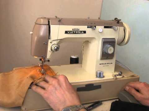 Sewing machine victoria graziella test for Machine a coudre victoria