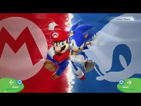 Mario & Sonic at the Rio 2016 Olympic Games - Hero Showdown - Mario Vs Sonic