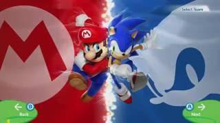 Mario & Sonic at the Rio 2016 Olympic Games - Hero Showdown - Mario Vs Sonic