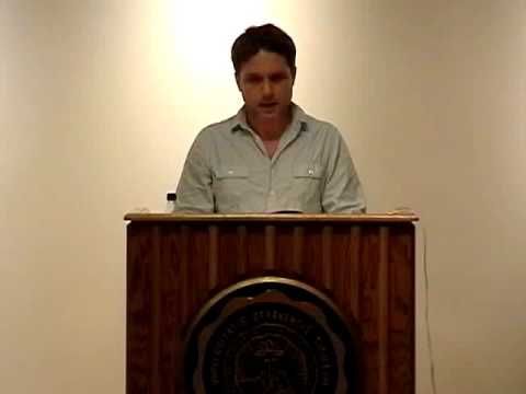 September 2010 - Prof. Nic Pizzolatto Reading / Q&A Session at DePauw University