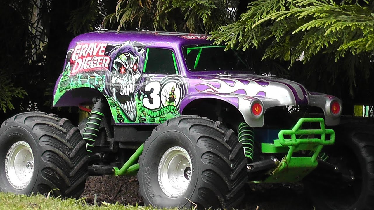 traxxas grave digger 30th anniversary