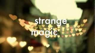 ELO-Strange Magic (LYRICS)