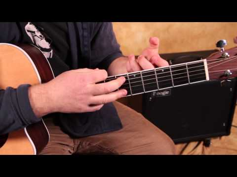 Acoustic Blues Guitar Lesson - How to Play