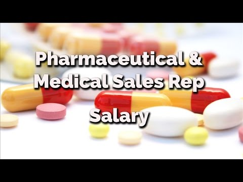 Pharmaceutical and Medical Sales Rep Salary | How Much money can you make as a drug rep