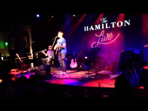 "Brett Young, ""Wrapped Around You,"" Live at the Hamilton DC 4/4/13"