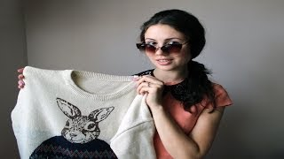 Посылочки, Заказы с ALIEXPRESS (кольца, ожерелья, свитер, воротничок, очки, браслет)