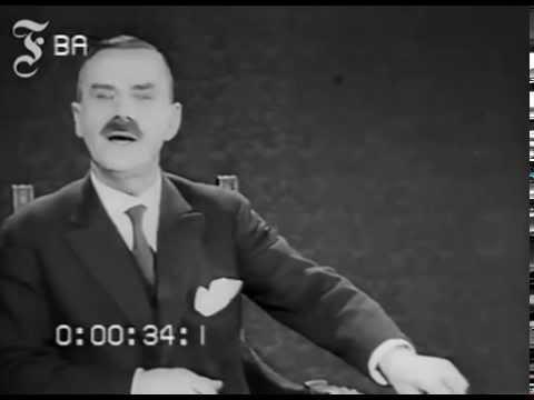 Thomas Mann - Erster Tonfilm eines deutschen Autors (1929)