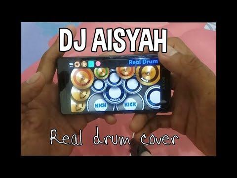 Realdrum - DJ AISYAH - JATUH CINTA PADA JAMILAH | AKIMILAKU