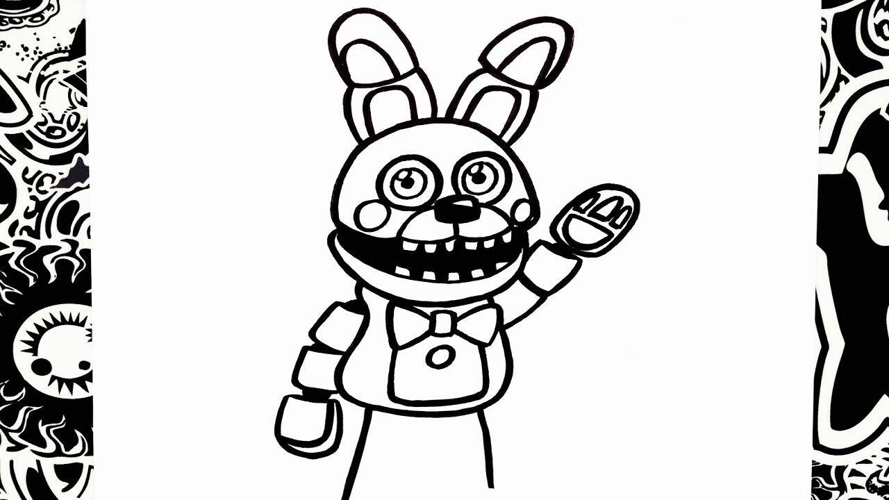 It's just an image of Clever Fnaf Sister Location Coloring Pages