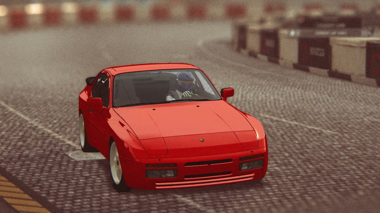 assetto corsa porsche 944 turbo s at highlands circuit long variant early morning fog youtube. Black Bedroom Furniture Sets. Home Design Ideas
