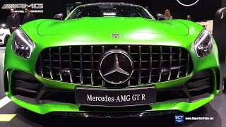 2018 Mercedes AMG GT R - Exterior and Interior Walkaround - 2017 Geneva Motor Show