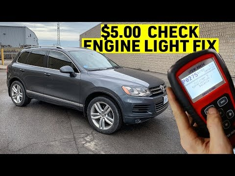 DAY 30 - VW Touareg FIRST CE Light + DIY Fuel Filter Change