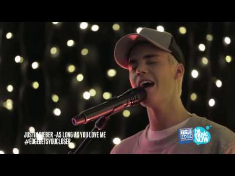 Justin Bieber   Full Performance HD   Live at The Edge Intimate & Acoustic