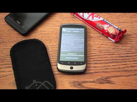 Installing Android 4.4 KitKat on the Nexus One