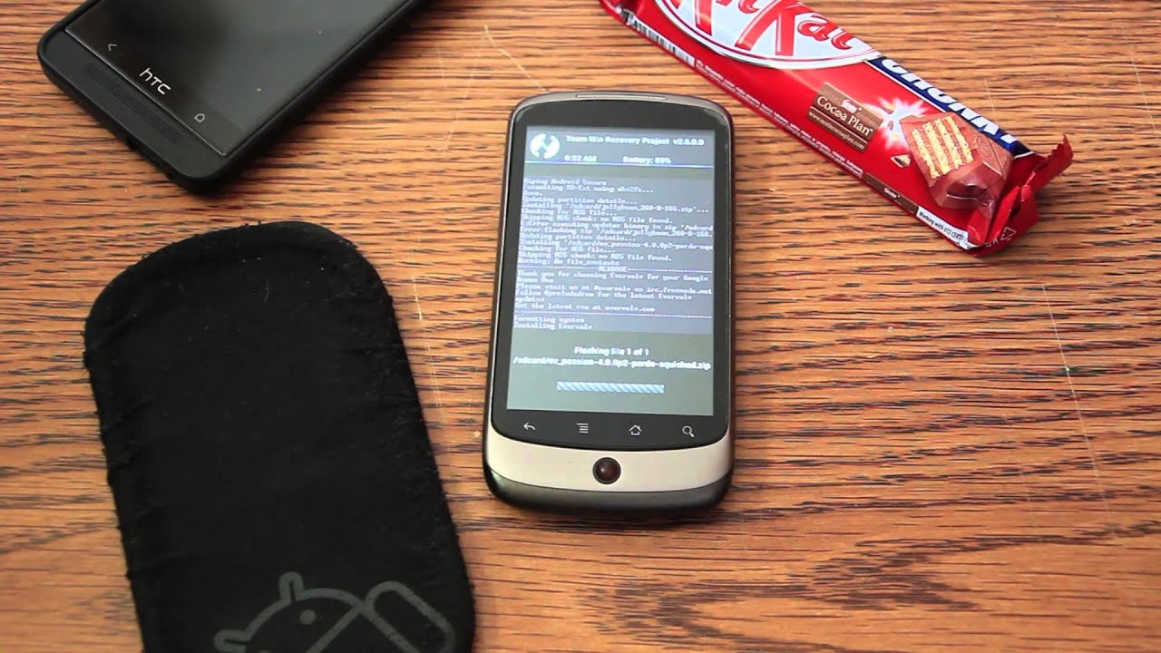 Installing Android 4 4 KitKat on the Nexus One