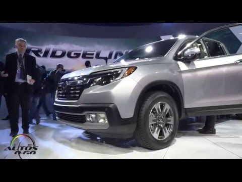 2017 Honda Ridgeline debut at the North American International Auto Show, Detroit 2016