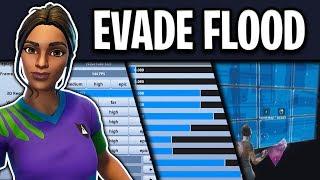 Evade Flood's Fortnite Settings, Keybinds and Setup (FASTEST EDITOR?)