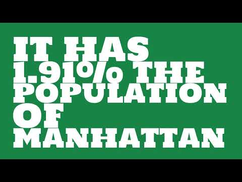 How does the population of Jacksonville, AR compare to Manhattan?