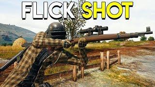 FLICK SHOT! - PlayerUnknown's Battlegrounds (PUBG)