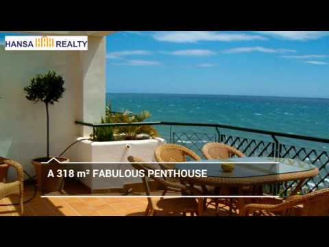 BEACHFRONT PENTHOUSE MIJAS COSTA
