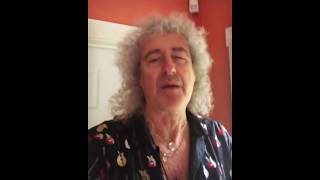 Brian May: Good mornin' all - get on your bike 03/01/2019