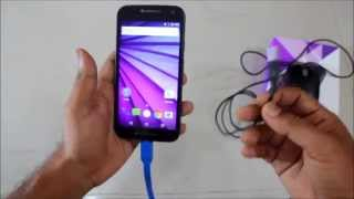 Moto G (3rd Generation) 2015 - How to Connect USB Drive (OTG Support Tutorial)