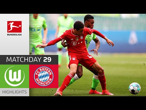 Wolfsburg Bayern Munich Goals And Highlights