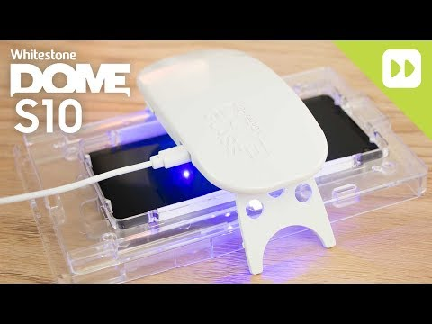 WhiteStone Dome Samsung Galaxy S10 Glass Screen Protector Installation Guide & Review