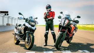 BMW R1250GS vs. KTM 1290 Super Adventure S. Which One is Faster?