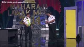 Maharaja Lawak Mega 2014 - Minggu 1 (Comey)