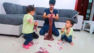 سوينا سلايم اطول من انس ولمار  اطول سلايم بالعالم !!