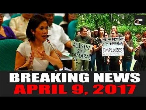 BREAKING NEWS TODAY! APRIL 9, 2017 | GINA LOPEZ MINURA ANG MGA TAGA MEDIA! | DNR - Philippines News