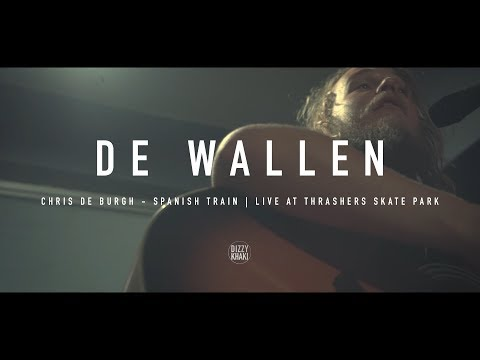 De Wallen - Chris De Burgh 'Spanish Train' Acoustic (live at Thrashers Skate Park)