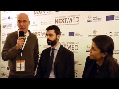 NextMed Conference: Andrea Vigevani and Madga Mcheik - ACCBAT and ENSIAP projects