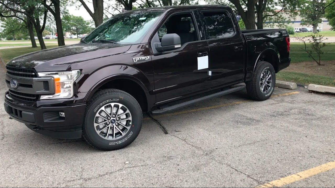 2018 Ford F 150 Xlt Sport 4x4 Tour Test Drive