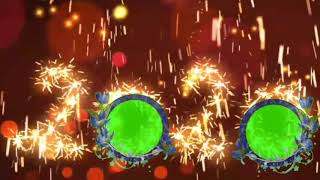 Happy New year 2020 Green Screen Effects 2020 Green Screen Effects 2020