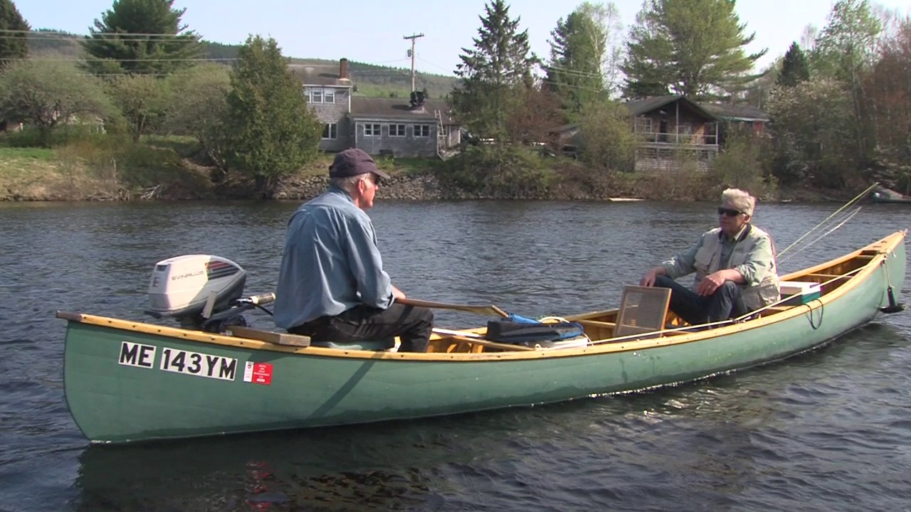 Russ theriault master maine fishing guide youtube for Maine fishing guide