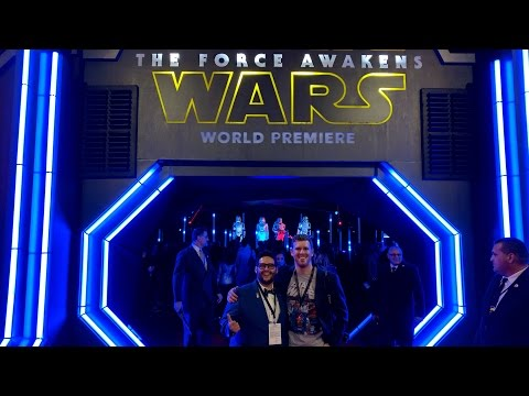 The World Premiere Of Star Wars (The Force Awakens, Red Carpet, and J.J. Abrams)