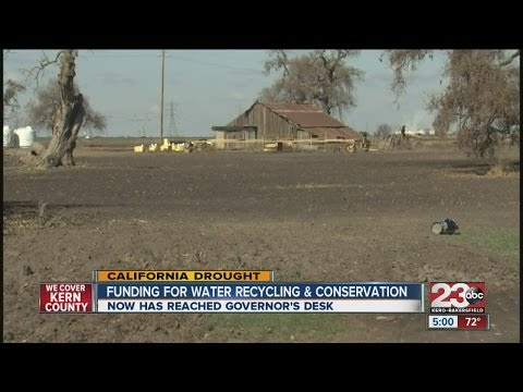 Funding for water recycling and conservation