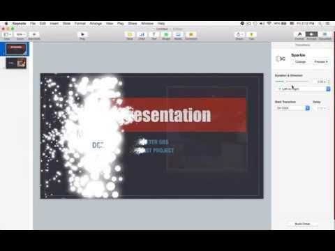 แนะนำการทำพรีเซนเตชั่น ด้วยโปรแกรม Apple Keynote by Peter GBS