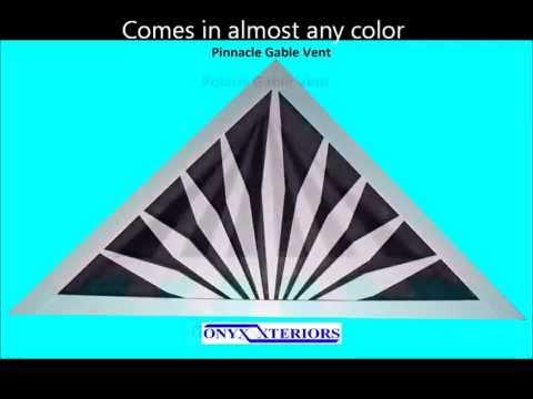 decorative gable vents - youtube