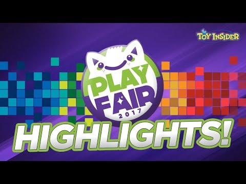 PLAY FAIR 2017 HIGHLIGHTS & THE TOY INSIDER'S ROOM FULL OF TOYS GIVEAWAY!