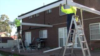 Lysaght Living Collection Guide To Installing A Flat Roof Structure Attached With Receiver Channel