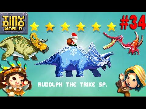 Rudolph The Trike SP 6STARS,Nasutoceratops,Pterodaustro - Tiny Dino World #34