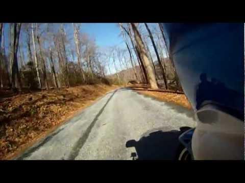 2012 Honda Goldwing GL1800 Riding Twisties in Saluda, North Carolina