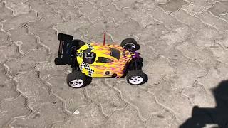 Auto Buggy Himoto Nitro Rc C/arranque Eléctrico- Impecable!