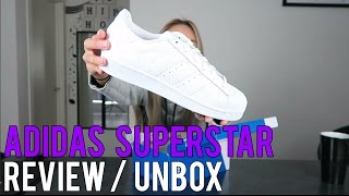 ADIDAS SUPERSTARS FOUNDATION / UNBOX / ON FEET  // SNEAKER REVIEW!