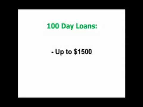 100 Day Payday loans Review- How to get Payday Loans Approved - YouTube