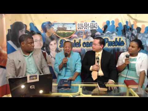 Evangelizando con David A. Leonard smith y el ministerio Espacio de Dios Mayobanex quintana