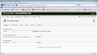 Joomla einrichten Editor installieren-Deutsch